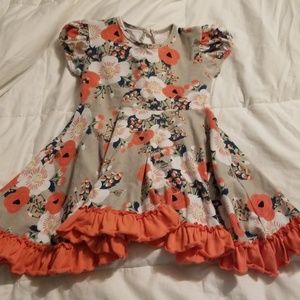 Other - No tag dress floral coral, gray
